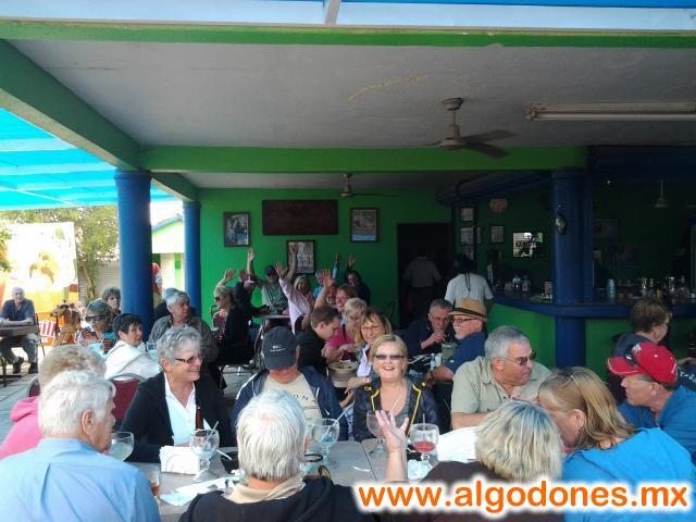 La Parrilla Restaurant in Los Algodones